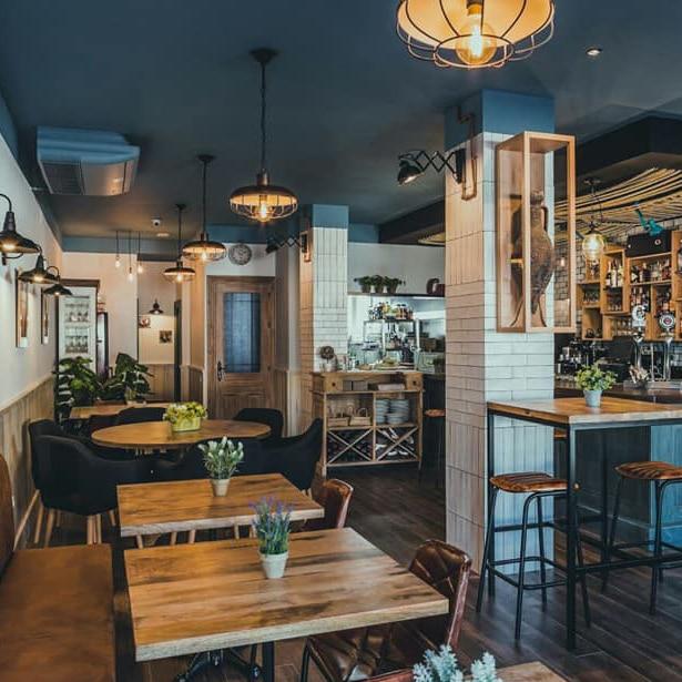Restaurante Anfora Benalmadena salon